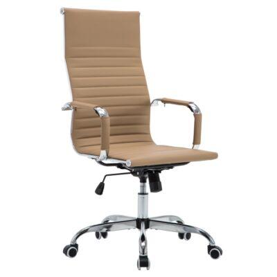 T-AZURE 2 NEW modern irodai szék, cappuccino