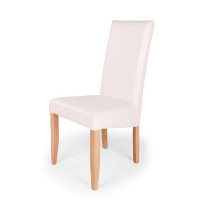 Berta szék éger bézs textilbőr