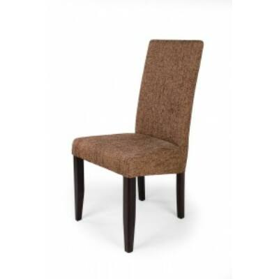 Berta szék wenge sötét barna zsák szövetes