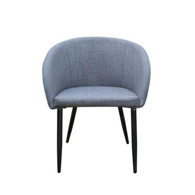 Fotel , anyag szürke/fekete, RAVEN