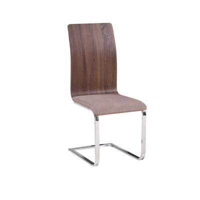 ODETA modern szék, Szín: Bézs / fa minta