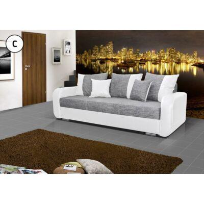 FERO kanapé szürke - fehér