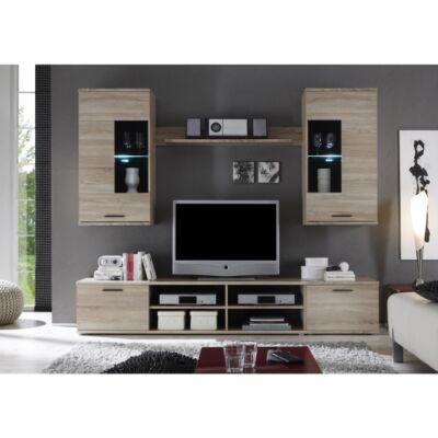 sonoma modern nappali szekrény