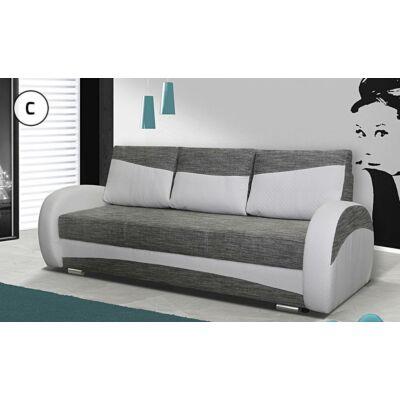 MARA kanapé szürke - fehér