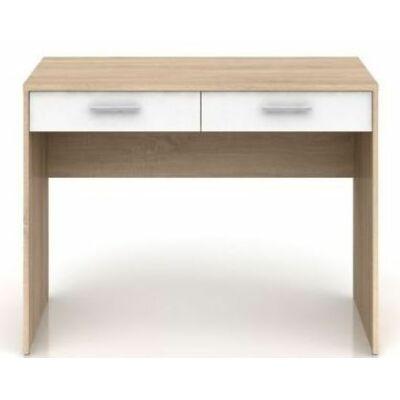 Nepo system elemes bútorcsalád Nepo BIU2S íróasztal sonoma tölgy+fehér
