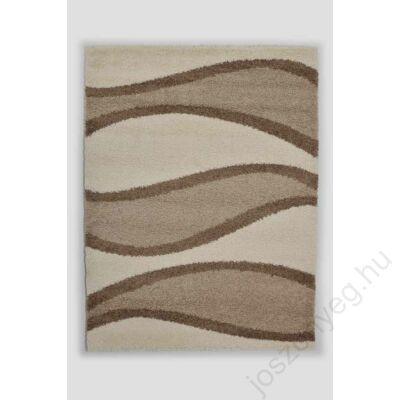 1-272 Shaggy szőnyeg - Hullámos, Bézs