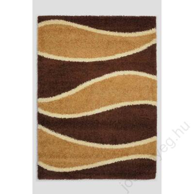 1-272 Shaggy szőnyeg - Hullámos,Barna