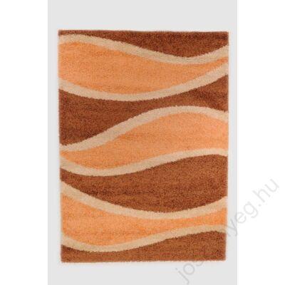 1-272 Shaggy szőnyeg - Fahéj