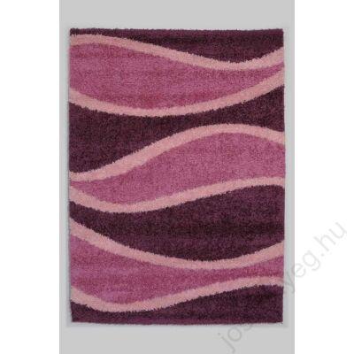 1-272 Shaggy szőnyeg - Hullámos,  Pink