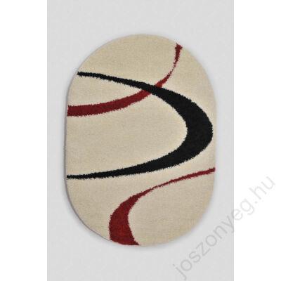 1-691 Shaggy szőnyeg - Bézs