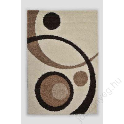 1-700 Shaggy szőnyeg - Kétkörös, Bézs