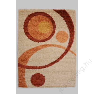 1-700 Shaggy szőnyeg - Kétkörös, Narancs