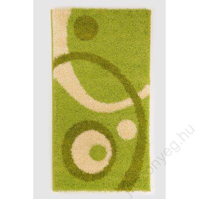 1-700 Shaggy szőnyeg - Kétkörös,  Zöld