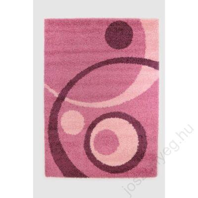 1-700 Shaggy szőnyeg - Kétkörös, Pink