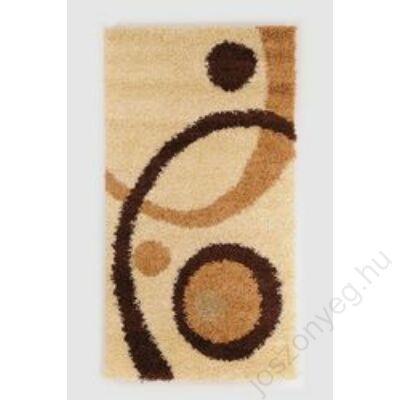 1-700 Shaggy szőnyeg - Kétkörös,  Barna