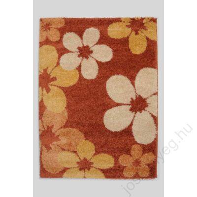 1-890 Shaggy szőnyeg -  Nagy virágos, Terra
