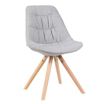 Modern steppelt szék, szürke/bükk, REGE