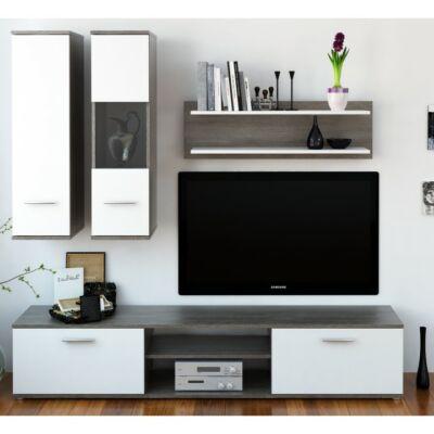 Waw new trufla tölgyfa/fehér egyszerű és mutatós szekrény