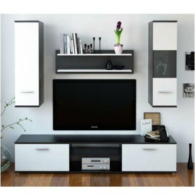 waw new modern nappali fekete fehér színben